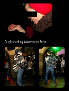 Dancing in the club