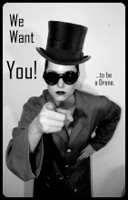We Want You! ...to be a Drone.