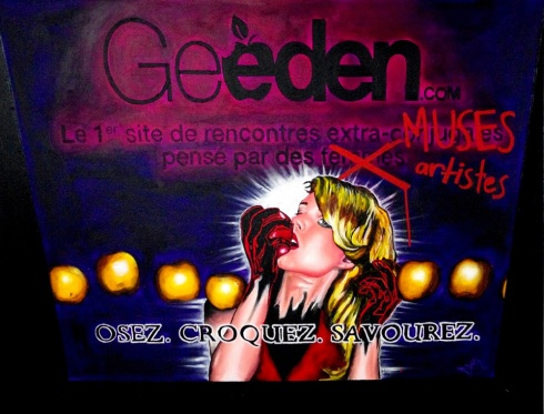 """Geeden"" by Lala Drona.  Inspired by blog article found here."