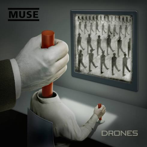 Muse album cover...allegedly calling out to Muses and Drones.