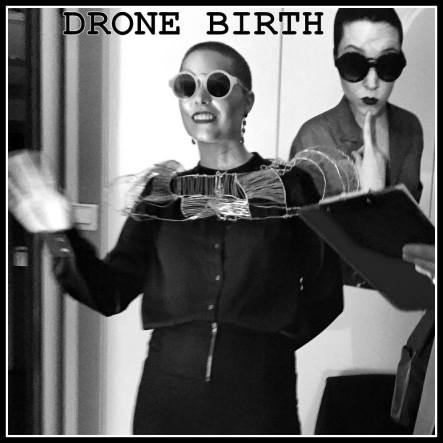 Lala makes a speech as people come from all walks of life to sign up to be a Drone.