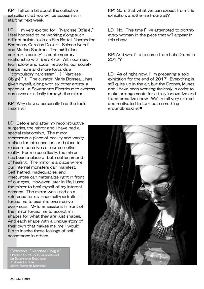 Mirror, Mirror Interview pg 3