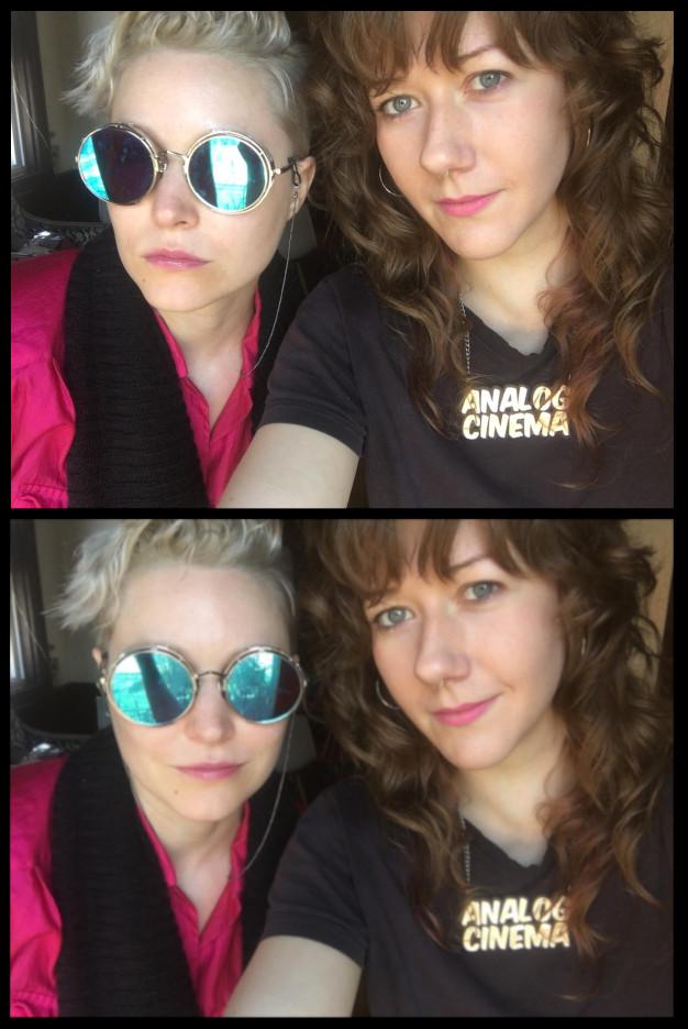 Lala Drona and Erica Schreiner artist collaboration.  Video artist