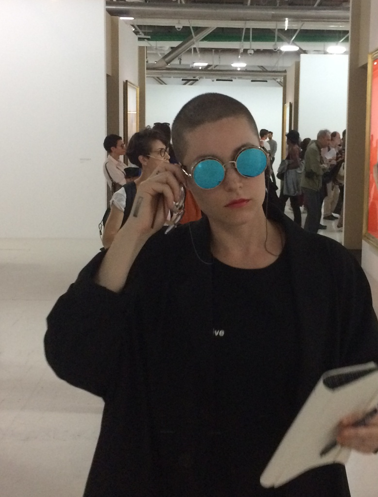 Lala Drona spotted at exhibition in Paris